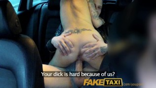FakeTaxi I join horny married couple for an awesome threesome